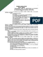 Ley 388 Del 94 Constitucions de Sociedades Anonimas