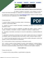 ICMS - IMPOSTO SOBRE CIRCULAÇÃO DE MERCADORIAS E PRESTAÇÃO DE SERVIÇOS