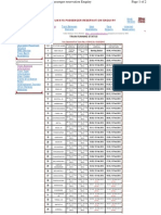 rail Schedule