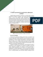 Indrumator de laborator - Transfer de caldura si masa