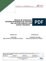 Manual de Instalación-SIGESP VERSIONES-(ORGANOS)