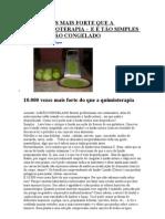 10.000 VEZES MAIS FORTE QUE A QUIMIOTERAPIA - LIMÃO CONGELADO