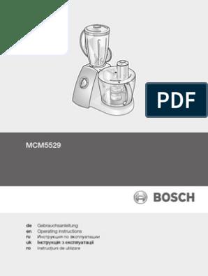Scheibe cutter originalteil Bosch MCM2050 roboter küche
