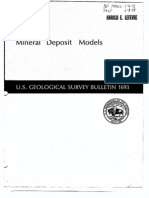 USGS - Mineral Deposit Models (1986 - Singer and Donald)(ML033560398)