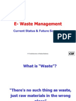2. E Waste Management - Present Scenario