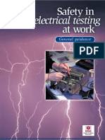 Safety and Electrical Testing
