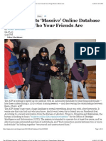 """Preview of """"The ATF Wants 'Massive' Online Database to Find Out Who Your Friends Are 