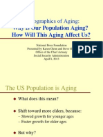 Why is Our Population Aging? How will this Aging Affect Us?