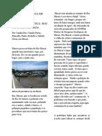 Materia 802 - Poluição da agua em Macaé