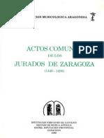 Actos Comunes Jurados Zaragoza 1440