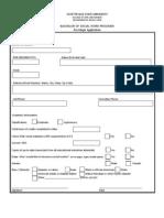 BSW Program PreMajor Application Form_fillable