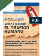 Ayude a Eliminar El Trafico Humano