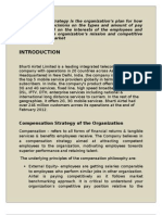 Compensation Strategy of the Organization