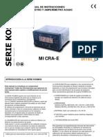 Manual Amperimetro Voltimetroi