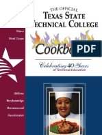 TSTC 40th Anniversary Cookbook
