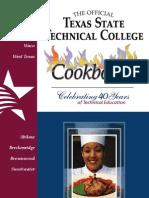 TSTC 40th Anniversary Cookbook