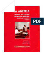 Anemia Para Profesionales de La Salud Aps 2009