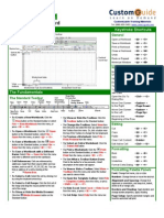 Excel Cheat Sheet 1