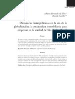 SILVA & CASTILLO_dinamicas Metropolitanas en La Era de La Globalizacion