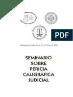 Ponencia Pericia Caligrafica Judicial