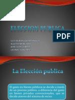 La Eleccion Publica