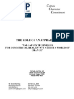 The Role of an Appraiser