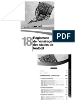 R Glement FFF de l Clairage Des Stades de Football