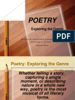 poetry exploringthegenre