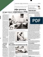 2001.07.01 - Colisão na BR-381 mata dois e fere gêmeos - Estado de Minas