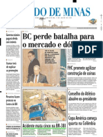 2001.07.06 - Acidente Mata Cinco Na BR-381 - Estado de Minas