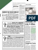 2001.07.09 - Estudante Morre No Km 871 Da BR-381 - Estado de Minas