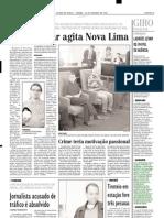 2001.10.20 - Vítima em colisão frontal - Estado de Minas
