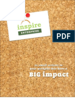 Inspire Enterprise Booklet