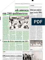 2001.11.10 - PROTESTO REÚNE MORADORES E ATÉ REPRESENTANTES DE PARTIDOS POLÍTICOS - Estado de Minas