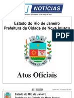 diario oficial de nova iguaçu - 27 de Março de 2013
