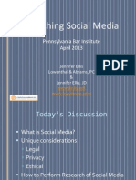 Social Media Research for Law Firms