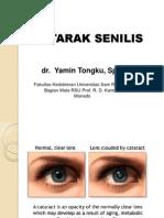 Mata - Dr. Y. Tongku, SpM - Katarak Senilis.pptx