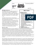 Community Bulletin - April 2013