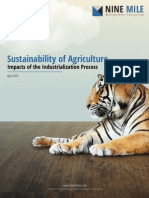 Sustainability of Agriculuture