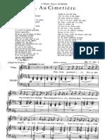 Fauré - Au Cimetière low