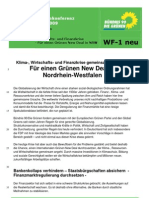 Beschluss WF-1 NEU Wirtschaft Green New Deal