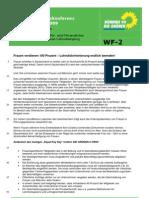 Beschluss WF-2 Resolution Lohndumping