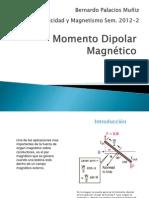 Momento Dipolar Magnético