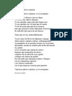 Poema Vamos Patria a caminar Otto René Castillo