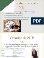 Historia de Protocolo NTP