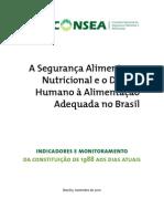 5. a SAN e o DHAA No Brasil