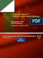 Fungsi dan Tugas Konsil Kedokteran Indonesia