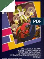 Acompañamiento Psicosocial en la Investigacion Antropologica Forense