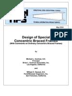 SSEC 2004 Design of Special Concentric Braced Frames 123p