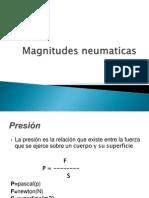 Magnitudes Neumaticas